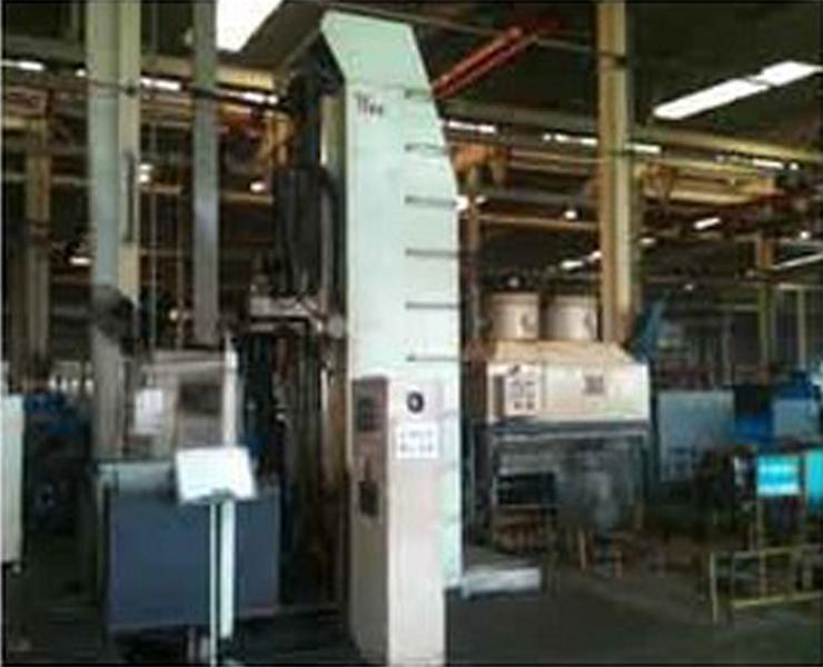 中频淬火机床空冷器使用现场