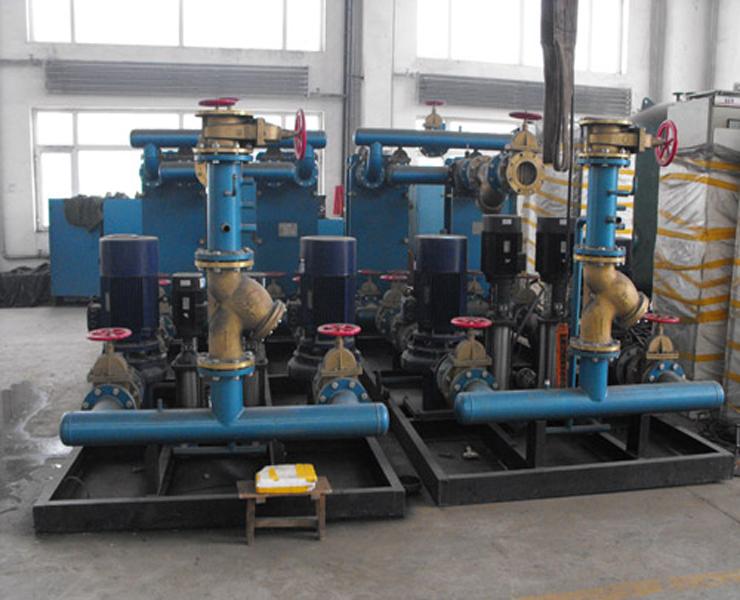 新疆换热机组准备包装